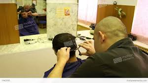 how much for a prison haircut barber in prison haircut convicted stock video footage 7440995