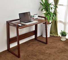 36 Inch Computer Desk Folding Computer Desk With 2 Wheels Desks Office Furniture Regard