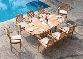 Patio Furniture Table Should You Treat Teak Patio Furniture With Teak Oil Teak Patio