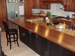 kitchen countertop design ideas using concrete inspiration on stunning wooden countertop design with l shaped ideas feat sink over ceramic also beautiful cabinets furnishing