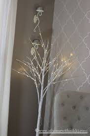 lighted trees home decor modest astonishing lighted tree home decor at home with nikki simple