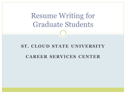 popular resume writers services for university