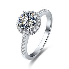 inexpensive engagement rings online get cheap moissanite engagement ring aliexpress com