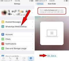 Iphone 4 Scan Qr Code by How To Use Whatsapp Web With Iphone 8 Plus X Iphone 7 Plus