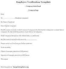 Employer Certification Letter Sle Doc 662777 Sample Employee Verification Letter U2013 40 Proof Of