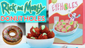 rick and morty donut eyeholes nerdy nummies youtube
