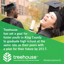 Treehouse Fostering Agency - celebrating national foster care month with treehouse weber