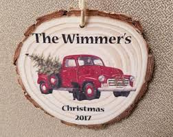 truck ornament etsy