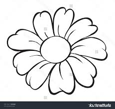 daisy flower coloring pages elegant scout pledge coloring