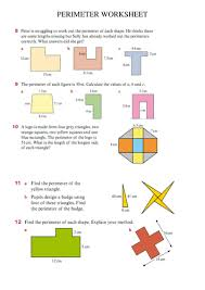 perimeter worksheet by mrvman teaching resources tes