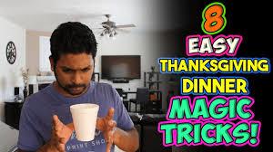 8 how to easy thanksgiving dinner magic tricks