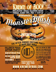 party with the krewe of boo parade this halloween mardi gras new