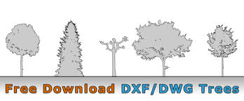 cad freeware architektur free tree cad drawing for architecture dwg dxf format