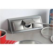 bloc prises courant à clapet plan de travail accessoires de cuisines