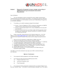 Proposal Cover Letter Rfp Response Cover Letter Examples