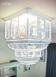 Chandeliers Designs Pictures Inspiration File Diy Birdcage Chandelier Via Design Sponge