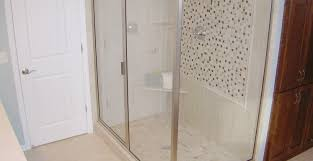 Frameless Frosted Glass Shower Doors by Shower Etched Glass Shower Doors Stunning Etched Glass Shower