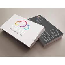 1 box 100pcs name card printing with matt lamination 260gsm