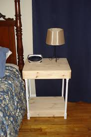unfinished country style end table visual engineering