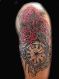 design anchor blue roses tattoo for men tattoos wonderful tattoo