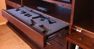 Wood Gun Cabinet 10 Cool Secret Gun Cabinets For Your Home Pics