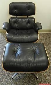 Herman Miller Lounge Chair And Ottoman by Herman Miller Eames Lounge Chair U0026 Ottoman Santos Palisander Black