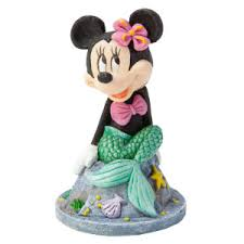 minnie mouse mermaid decoration for fish tank for the home