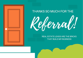 business referral thank you note wording