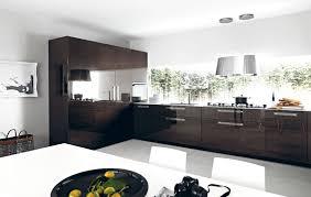 marron cuisine deco cuisine noir et marron idée de modèle de cuisine