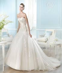 pronovias san patrick aries bridal sample gown size 12 bridal