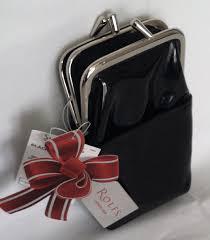 rolfs framed cigarette case patent black and 7 similar items