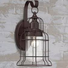 Nautical Outdoor Sconce Seaside 12 Inch Tall Wall Mounted Outdoor Nautical Sconce