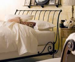 Iron Sleigh Bed Paris Sleigh Bed Open Charles P Rogers Beds Direct Makers Of