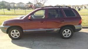 2004 hyundai suv 2004 hyundai santa fe gls 4dr suv in houston tx discount auto