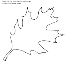 brilliant and also interesting fall leaf coloring page for your