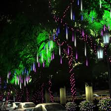 stunning design cascading lights outdoor home decorating