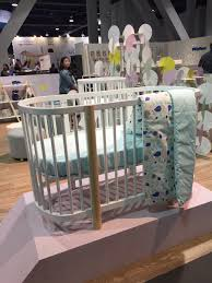 Bassinet Converts To Crib Newest Cribs Spotted At Abc Expo 2015 Oval Crib Crib And
