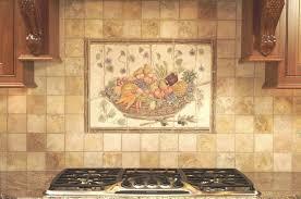 kitchen backsplash tile murals for kitchen tuscan kitchen