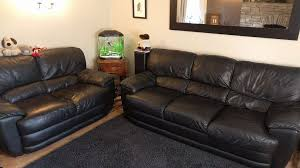 Leather Sofas Sheffield Black Soft Leather Sofas J H Hicolity 3 Seat 2 Seat 160 In