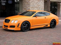 orange cars matte orange 2007 bentley continental gt genho