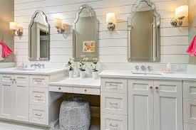 sacramento shabby chic bathroom traditional with mirror and shower