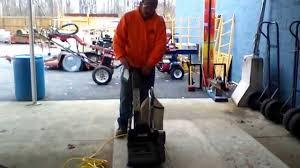 Used Floor Sanding Equipment For Sale by Clark Drum Sander Ebay List 300864797232 Youtube