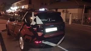 2017 land rover discovery sport trunk 2017 land rover discovery spied inside and out