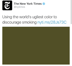 worlds ugliest color dana schwartz on twitter tfw your eyes are the world s ugliest