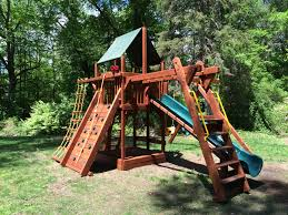photo gallery rainbow play systems swing sets and playgrounds