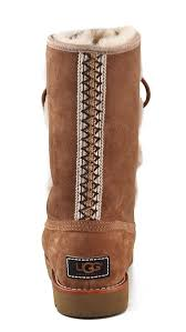 ugg rommy sale ugg rommy lace up boots in brown lyst