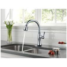 Perfect Kitchen Faucet With Pull fancy delta pull down faucet single handle pull down sprayer