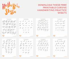 zaner bloser writing paper printable discover your hand lettering style with cursive hello brio studio download these free printable cursive handwriting practice sheets to help improve your handwriting hand lettering