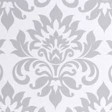grey wrapping paper gift wrap grey damask
