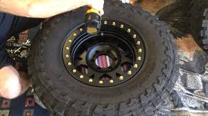 jeep beadlock wheels how to mount tires on your ultra beadlock rims youtube